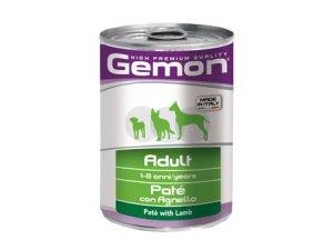 GEMON Dog HP paštika jehněčí 400g/24bal