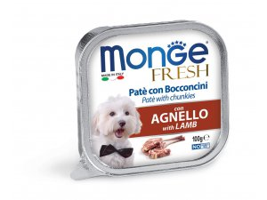 MONGE FRESH Dog jehně 100g/32ks