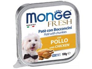 MONGE FRESH Dog kuře 100g/32ks