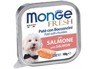 MONGE FRESH Dog losos 100g/32ks