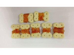 Sušenka obalená kuřecím masem-250g