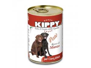 KIPPY Dog paté hovězí 400g/24kart.