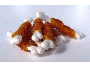 Kost kalciová měkká obalená kuřecím masem-250g