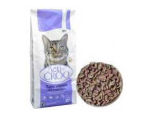 ACTI-CROQ Cat tuna & salmon 20kg 31/11