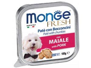 MONGE FRESH Dog vepřová 100g/32ks