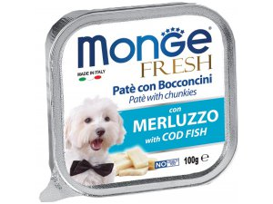 MONGE FRESH Dog treska 100g/32ks