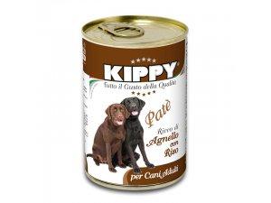 KIPPY Dog paté jehně 400g/24kart.