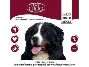 LBA-CROQ Large breed adult 20kg  24/14