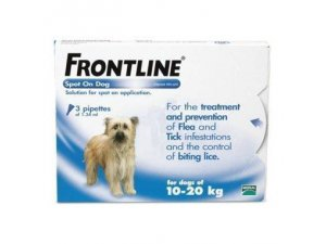 Frontline Spot-on Dog M 10-20kg MONO 1 pipeta