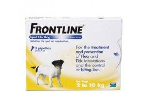 Frontline Spot-onog S  2-10kg MONO 1 pipeta