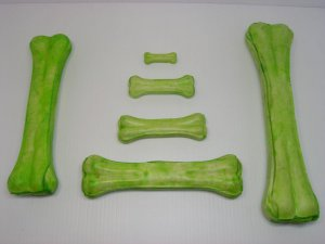 Zelená kost 21-22cm (10/100)