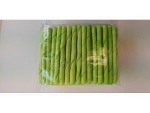 Zelená točená tyč 9-10mm (100/2000)
