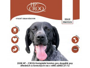 HP-CROQ Dog High Protein 20kg