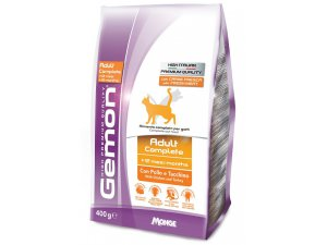 GEMON Cat Adult  Kuře/krůta 400g