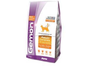 GEMON Cat Adult Kuře/krůta 1,5kg