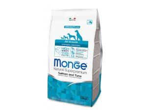 MONGE Dog Hypoallergenic Ryba, rýže 24/12 15kg - chovatelské balení - C:\Users\Macicek\Desktop\RES\MONGE BREADERS\monge hypoallergen ryba.JPG