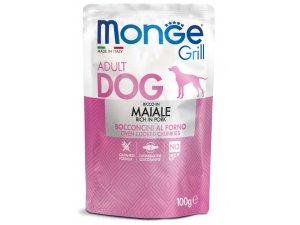 MONGE GRILL Dog Kapsička vepřové 100g/24bal