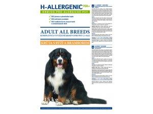 H ALLERGENIC Dog Adult Krůta s rýží a bramborem 15kg