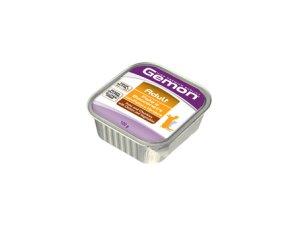 GEMON Cat HP paštika s kousky  kuřecí/zelenina 100g/32bal