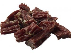 Kousky jehněčího masa ve vepřovém střívku 250g *