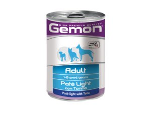GEMON Dog HP paštika Light tuňák 400g/24bal
