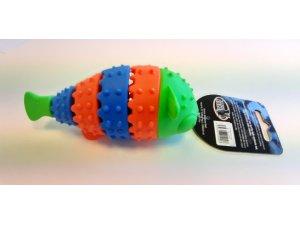 Ryba zeleno-modrá dentální - TPR 13.7x4.8x5.5cm**