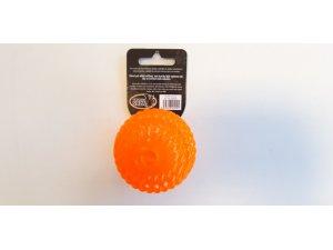 Míček nepískací - oranžový TPR
