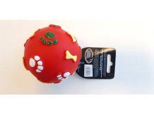 Míček červený - VINYL 8.5cm