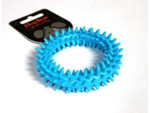 Kroužek dentální modrý - TPR 9x9x2.2cm