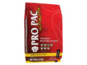PRO PAC ULTIMATES Dog Chicken & Browm Rice 26/15 20kg