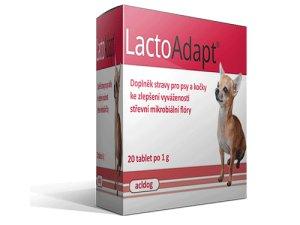 LactoAdapt 20tbl.střevní mikrobiální flóra-pes-kočka