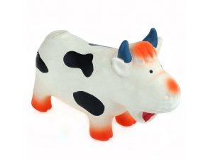 Kráva bučící (chrochtací) - LATEX 18cm