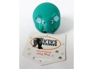 Slon míček pískací - LATEX 7cm (200/1)