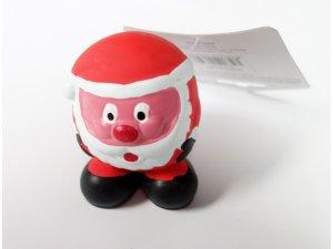 Santa vánoční pískací - LATEX 9cm (200/1)