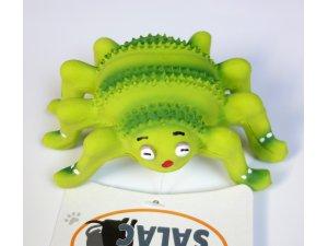 Pavouk zelený pískací - LATEX 12cm (250/1)