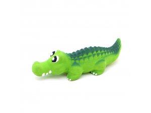 Krokodýl S pískací - LATEX 19cm (166/1)