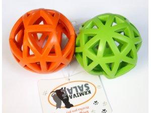 Děrovaný míč zelený 9cm (120/1)