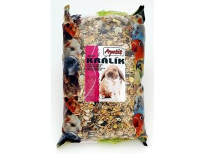 Apetit Zakrslý králík - základní krmná směs  1kg (6ks/bal.)