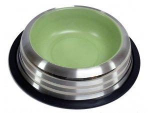 Miska nerez LINE PASTELOVÁ zelená 0,575l/15,5cm