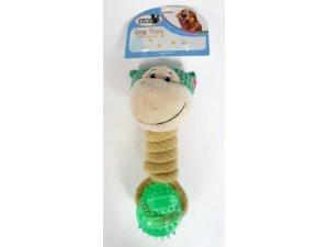 Přetahovadlo míček TPR opička 20cm (80/1)
