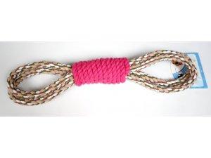 Přetahovadlo válec oboustranné 50cm růžové (42/1)