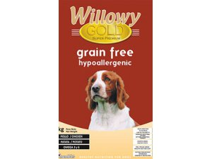 WILLOWY GOLD Dog Grain Free Hypoallergenic  39/1710kg