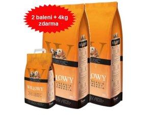 WILLOWY Dog High Energy 30/16 2x20kg + 4kg za 1Kč