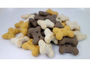 Sušenky pro štěňata MIX 2cm  10kg
