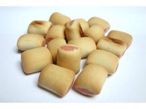 Sušenky trubičky s lososem 2cm  10kg
