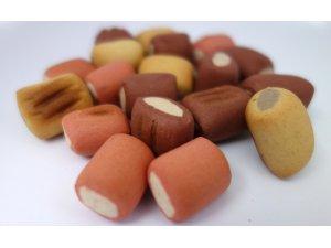 Sušenky trubičky MINI mix 1cm  500g