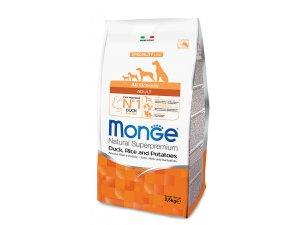 MONGE Dog Kachna, rýže, brambory 26/16  2,5kg