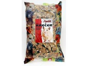 Apetit Křeček - základní krmná směs 800g (6ks/bal.)