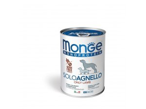 Monge Dog SOLO Jehně monoprotein  400g/24bal