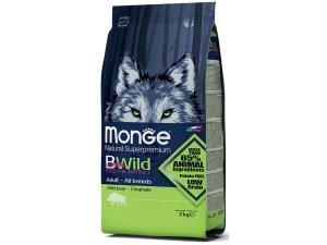 MONGE BWILD Dog - Divočák, Adult 7,5kg